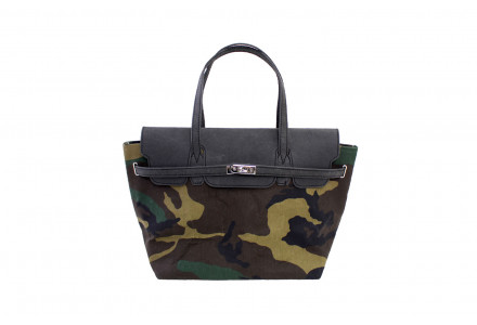 BORSA IN CARTA LAVABILE CAMOUFLAGE