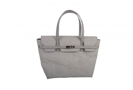 BORSA IN CARTA LAVABILE GREY