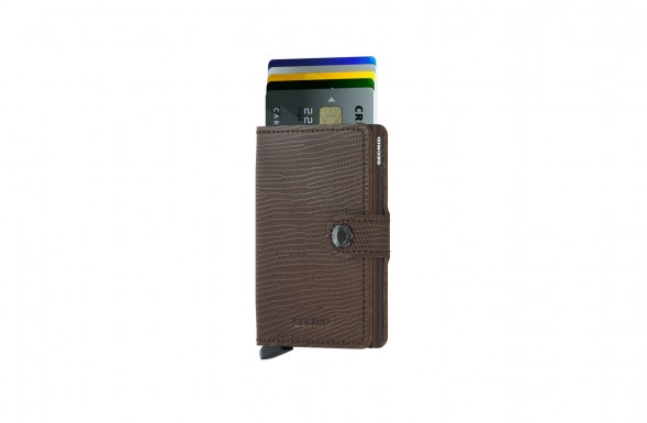 SECRID - Miniwallet Brown