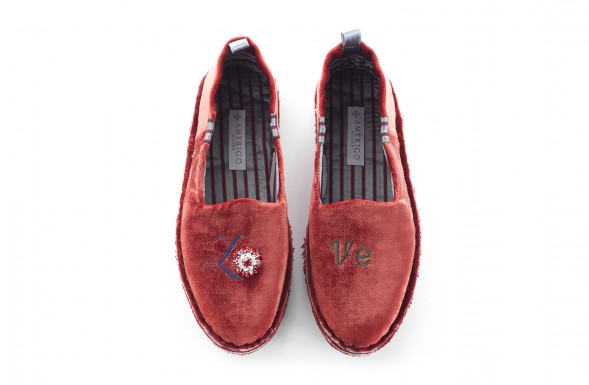 Slippers - Red Rebel