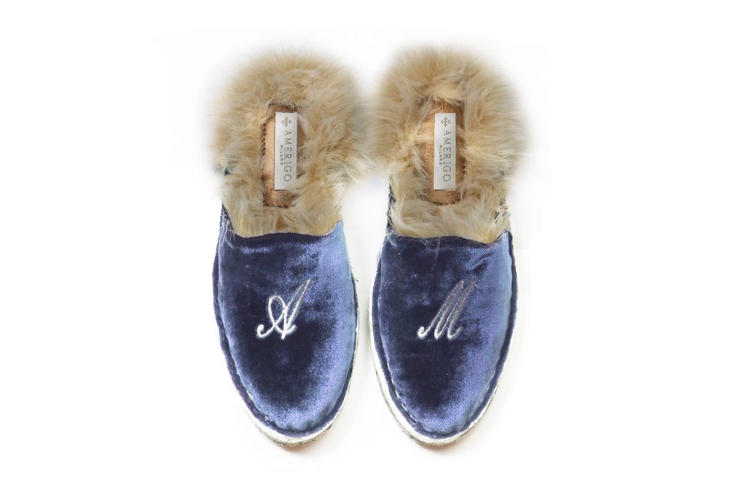 BLUE WITH ECO-FUR