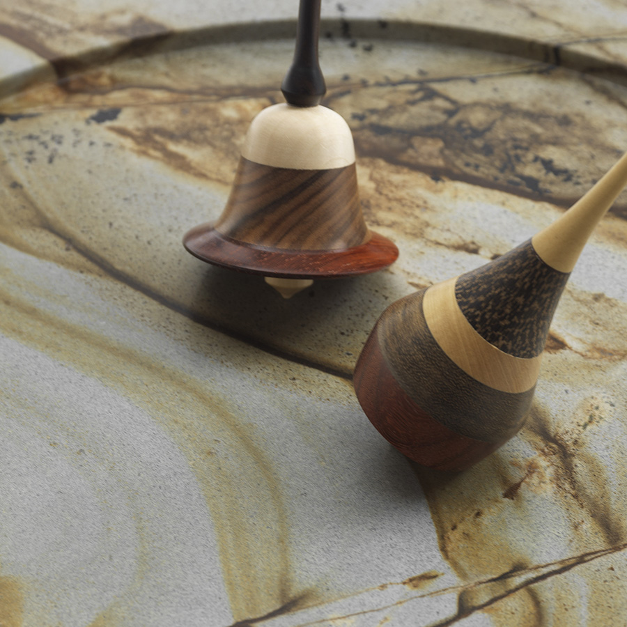 Each Spinning Top Is Handmade One Of Them Turned On Lathe By Domenico Our Skilled Toymaker And Mastro Trottolaio